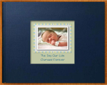 Picaboo Classic photo book for baby