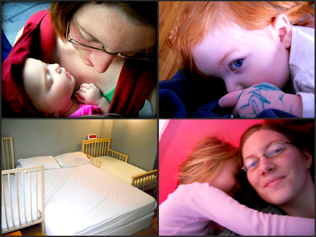 attachment parenting collage