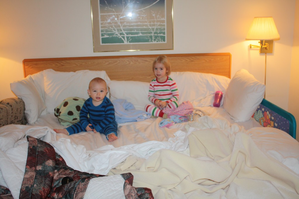 hotel-style co-sleeping