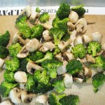 Roasted Broccoli & Mushrooms