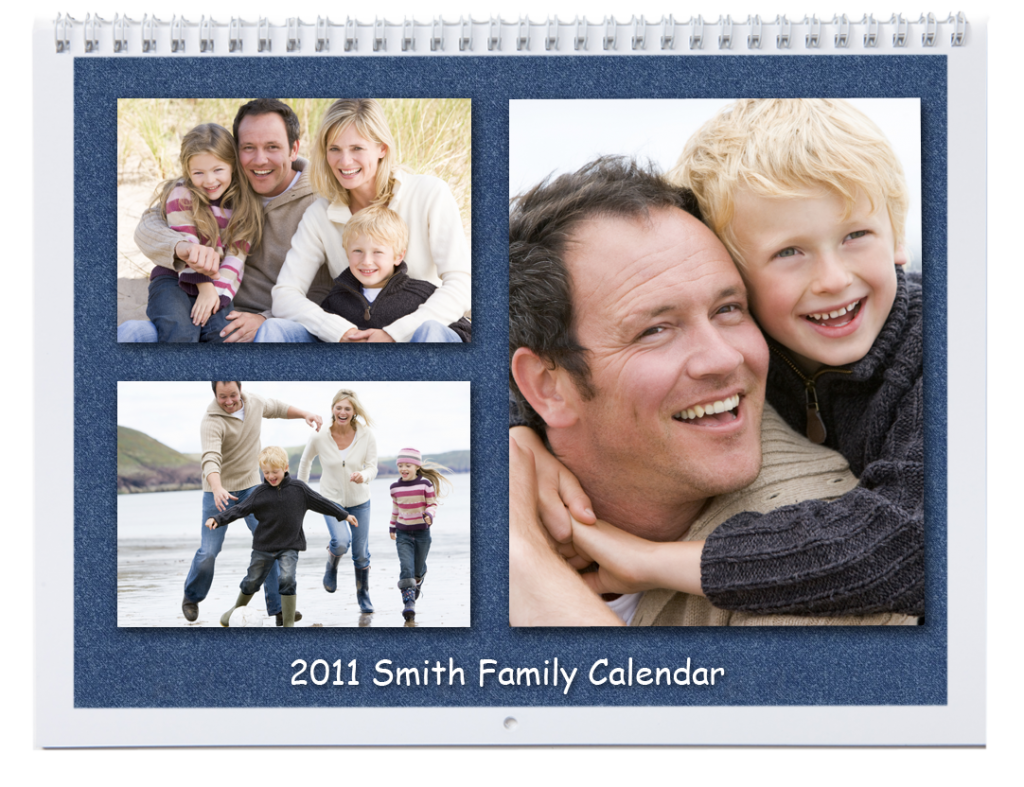Picaboo closed Family Calendar
