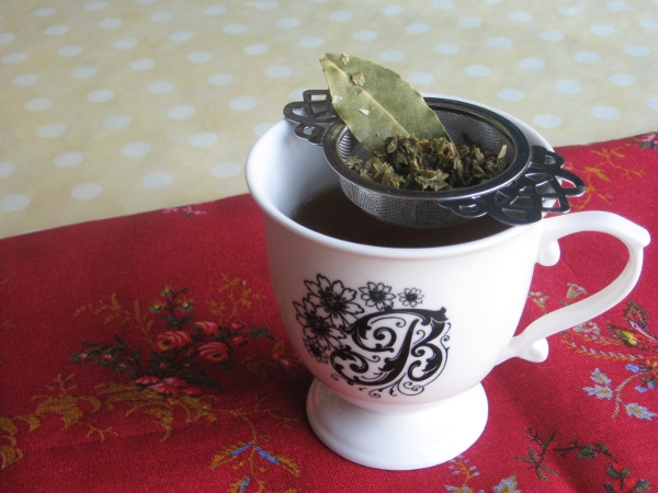 Spiced Raspberry Leaf Tea