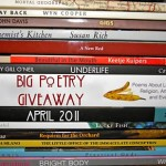 Giveaway: National Poetry Month ~ 3 Books, 2 Winners! $12-$28 {4.30; Worldwide} CLOSED