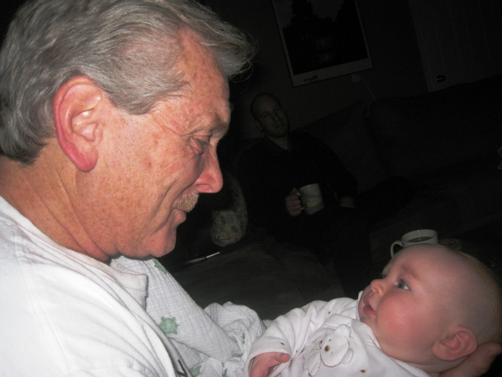 Grandpa and Baby