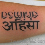 I believe in Ahimsa so fully that I have it tattooed in English and Sanskrit on my forearm as a constant, comforting reminder.