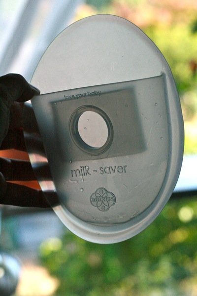 Milkies Milk-Saver giveaway on Hobo Mama for breastfeeding mom to save breast milk