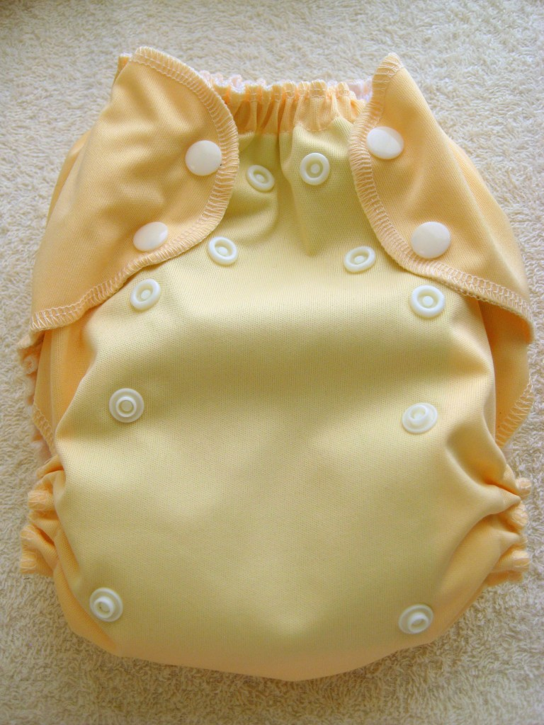 KidsCuteture one size pocket diaper (photo credit: Author)