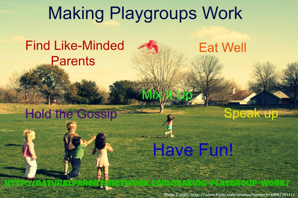 Making Playgroups Work