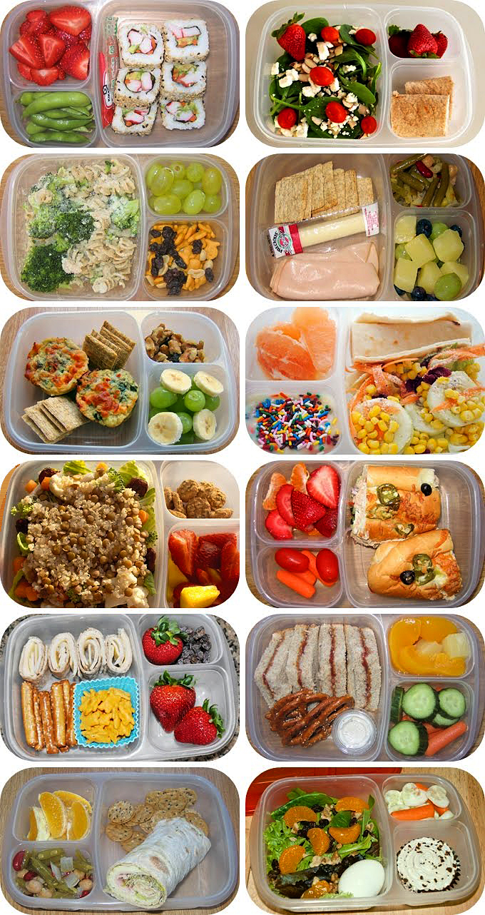 EasyLunchboxes lunches grid