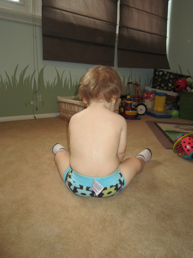 This picture shows the nice, snug fit. We buy the XS small size, which is for children approximately 20-26 lbs.