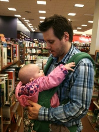 Like Mayim's husband, Michael was a very active participant in our attachment parenting lifestyle.