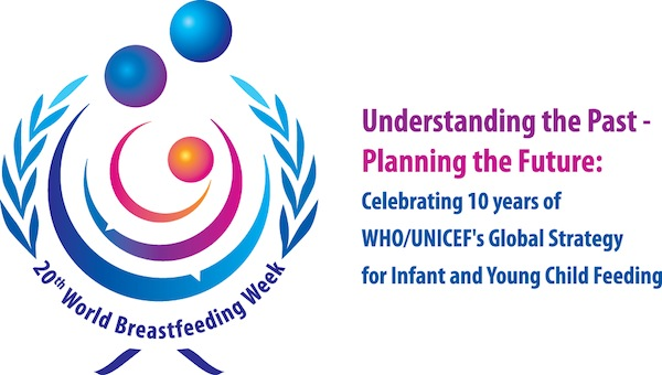world breastfeeding week 2012 logo