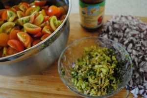 cooking with vegan ingredients