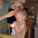 Wordless Wednesday: First Haircut