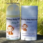 Giveaway: Natural Deodorant and Baby Care Products from Monkey Baby Naturals – $30 ARV CLOSED