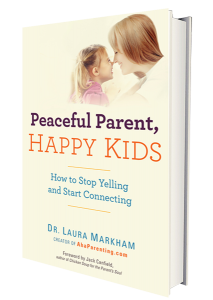 Giveaway: Peaceful Parent, Happy Kids by Dr. Laura Markham of Aha Parenting — $10 ARV {12.15; Worldwide}