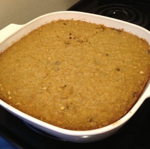 Natural Parents Network: Baked Oatmeal with Fruit - Egg, Wheat, Dairy Free