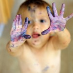 Wordless Wednesday: Messy Play