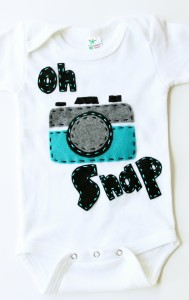 Oh Snap Onesie from Cody's Boutique
