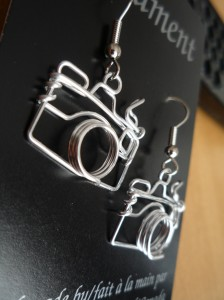 Heather Boyd Camera Earrings