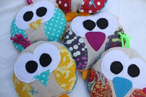 Owl Boo Boo Bags from Cody's Boutique