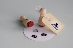 Miss Honeybird Mini Photo Stamp