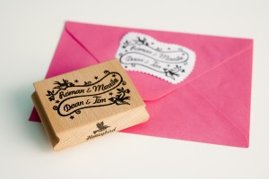 Miss Honeybird Family Name Stamp