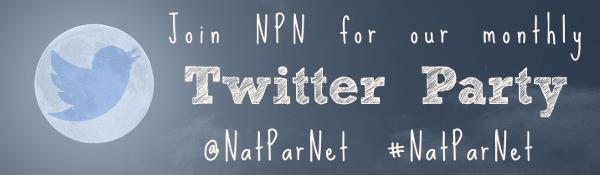 Twitter Parties with #NatParNet