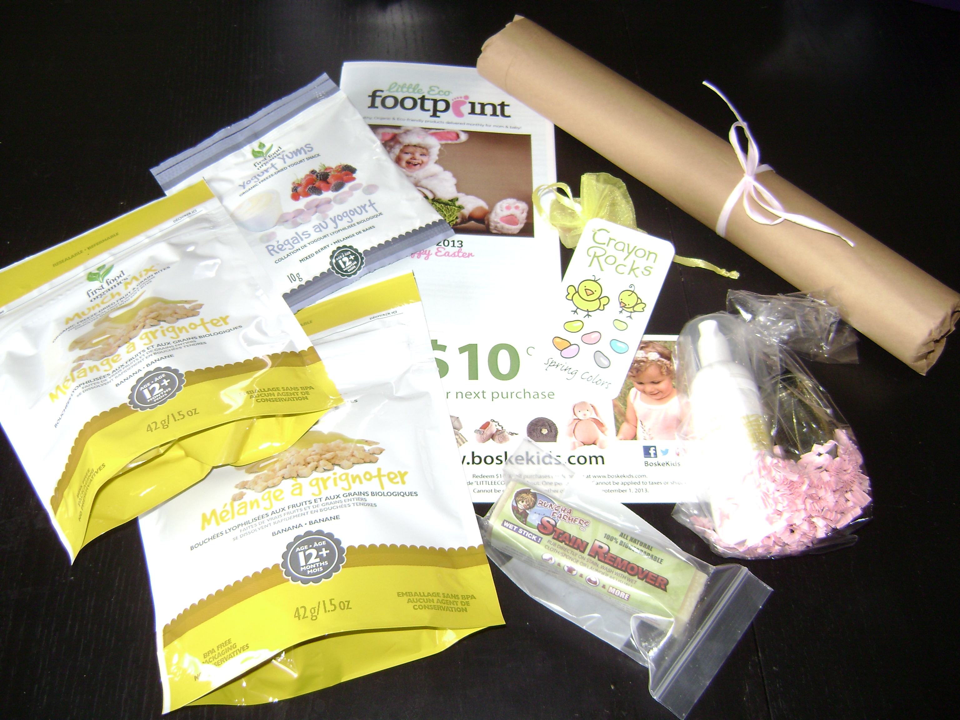 LittleEcoFootprint goodies