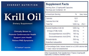 Everest Nutrition Krill Oil Giveaway: NaturalParentsNetwork.com