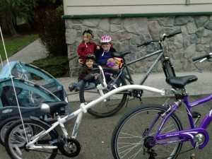 Natural Parents Network: Family Biking