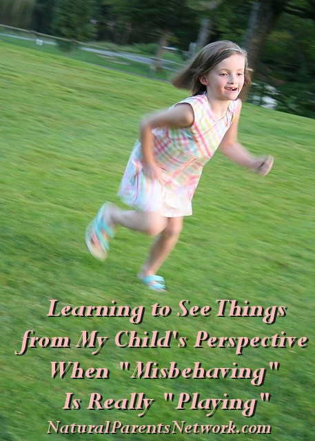 Learning to See Things from My Child's Perspective: When