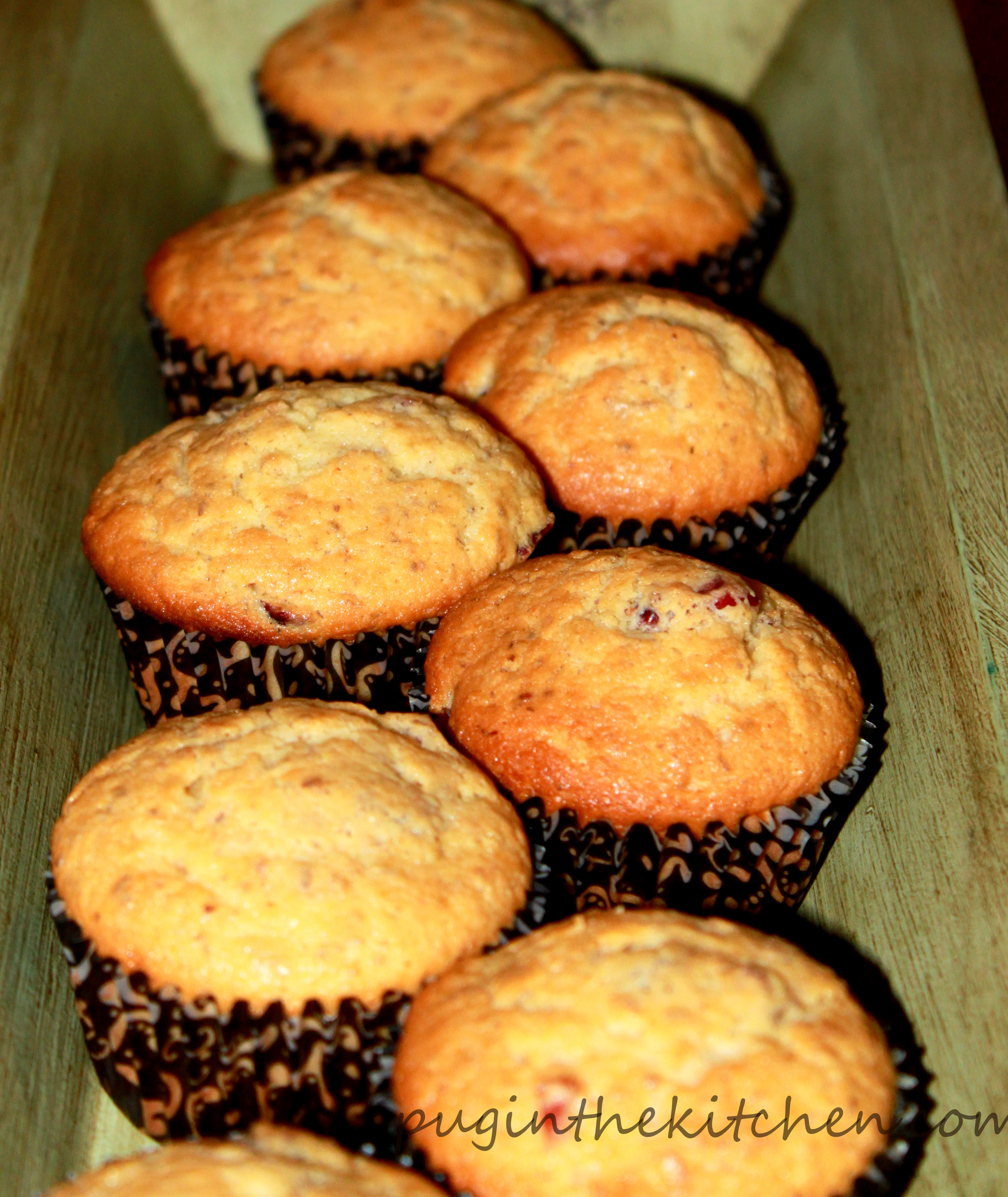 Natural Parents Network: Cranberry Power Muffins