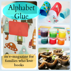 Hobo Mama Giveaway: Alphabet Glue eMagazine $20 ARV: Second Annual NPN Holiday Gift Guide {12/6, 26 winners, US only, $2,587 ARV}