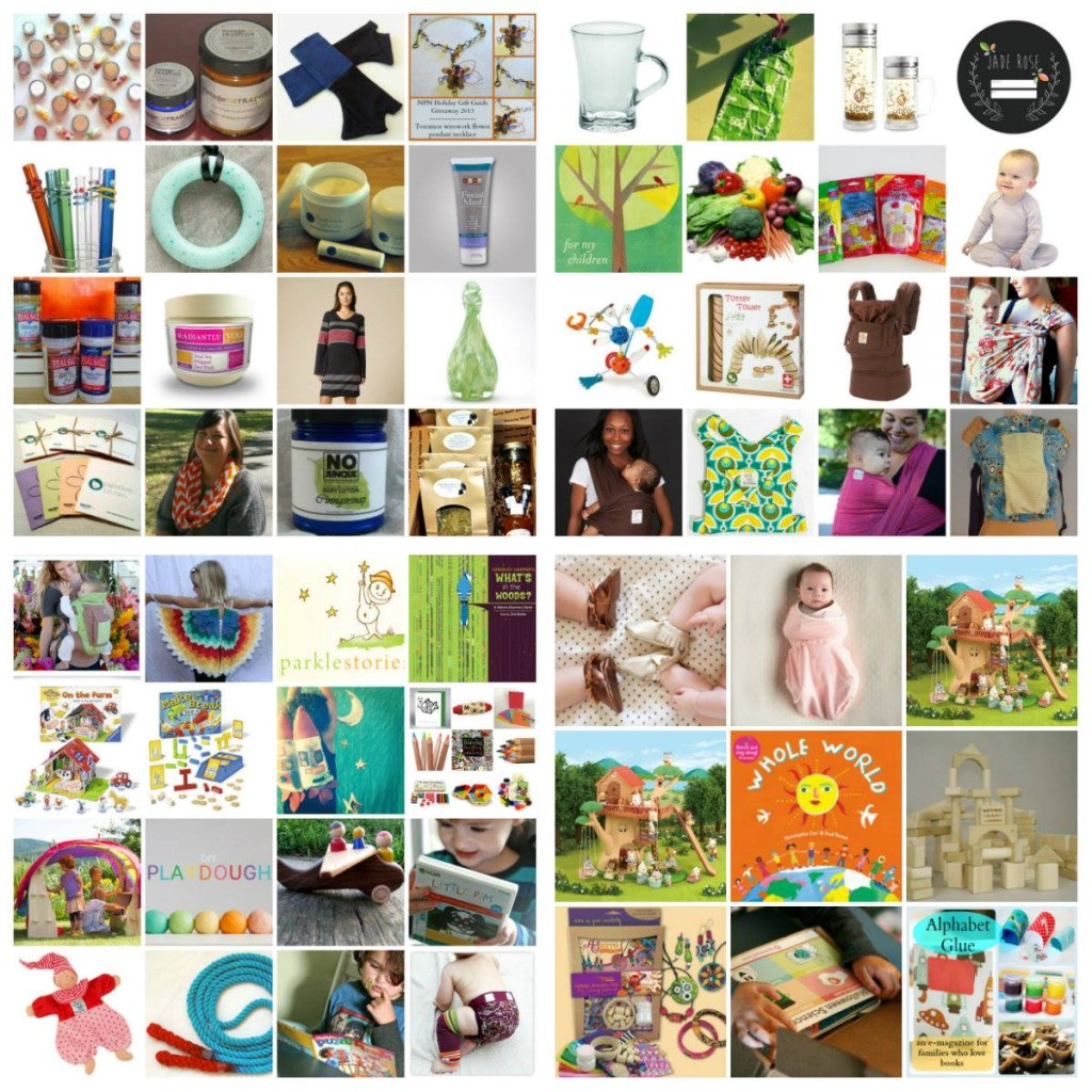 Natural Parents Network's 2nd Annual Holiday Gift Guide & Giveaway! {12/6, 26 winners, US, ARV $2,587}