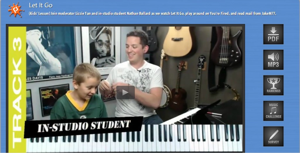 Learn Piano Live Screenshot