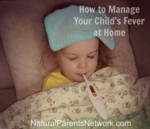 How to Manage Your Child's Fever at Home - Natural Parents Network