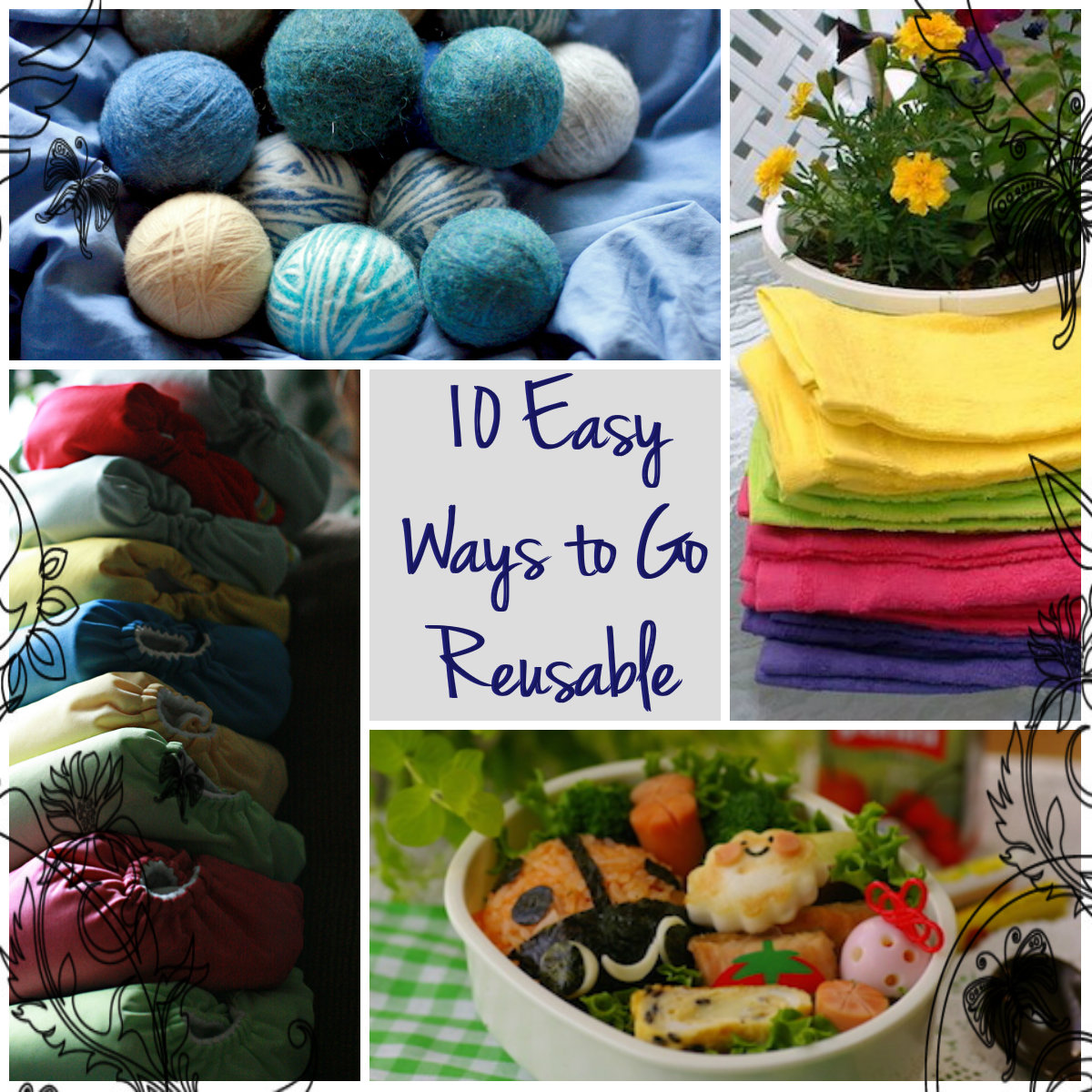 Natural Parents Network: 10 Easy Ways to Go Reusable at Home